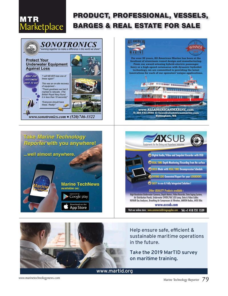 Marine Technology Magazine, page 79,  Mar 2019