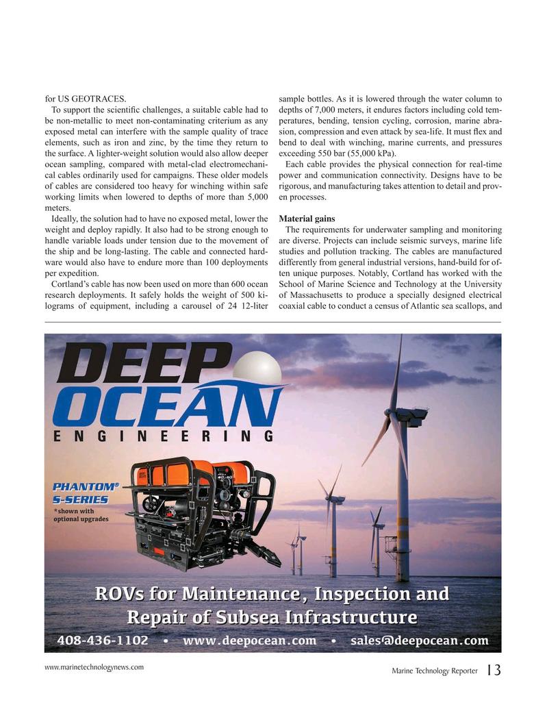 Marine Technology Magazine, page 13,  Apr 2019