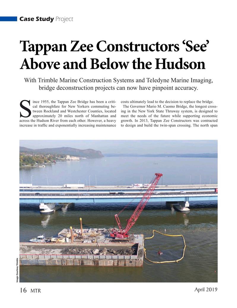Marine Technology Magazine, page 16,  Apr 2019