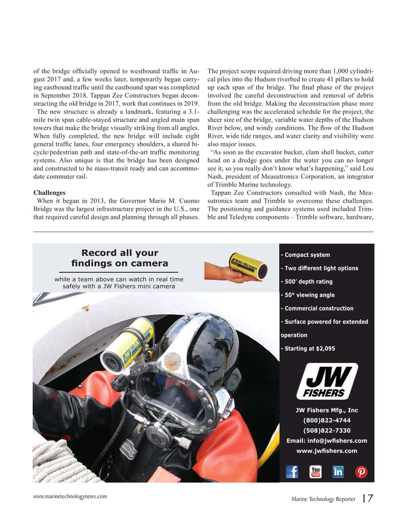 Marine Technology Magazine, page 17,  Apr 2019