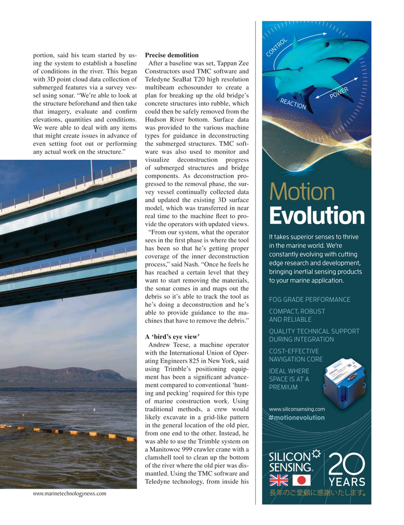 Marine Technology Magazine, page 19,  Apr 2019