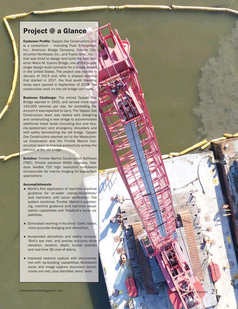 Marine Technology Magazine, page 21,  Apr 2019