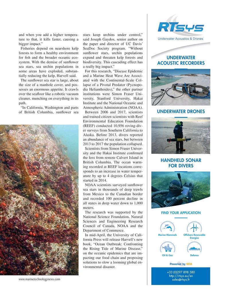Marine Technology Magazine, page 23,  Apr 2019