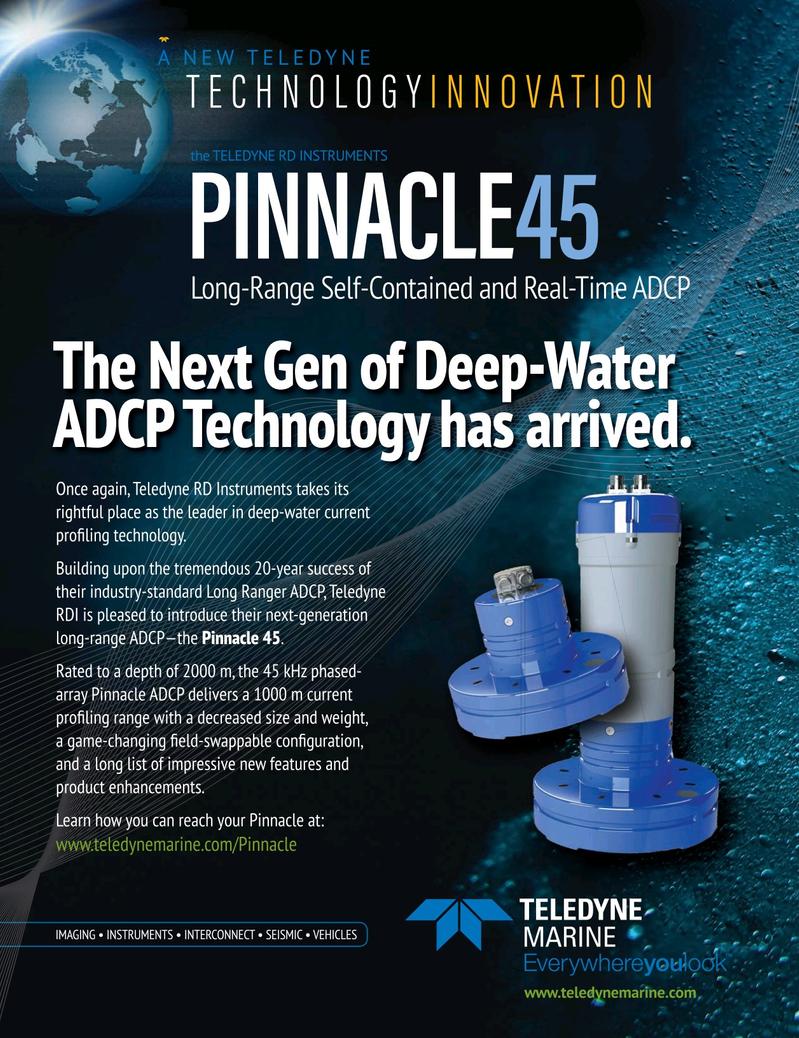 Marine Technology Magazine, page 1,  Apr 2019