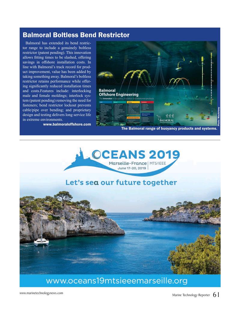 Marine Technology Magazine, page 61,  Apr 2019