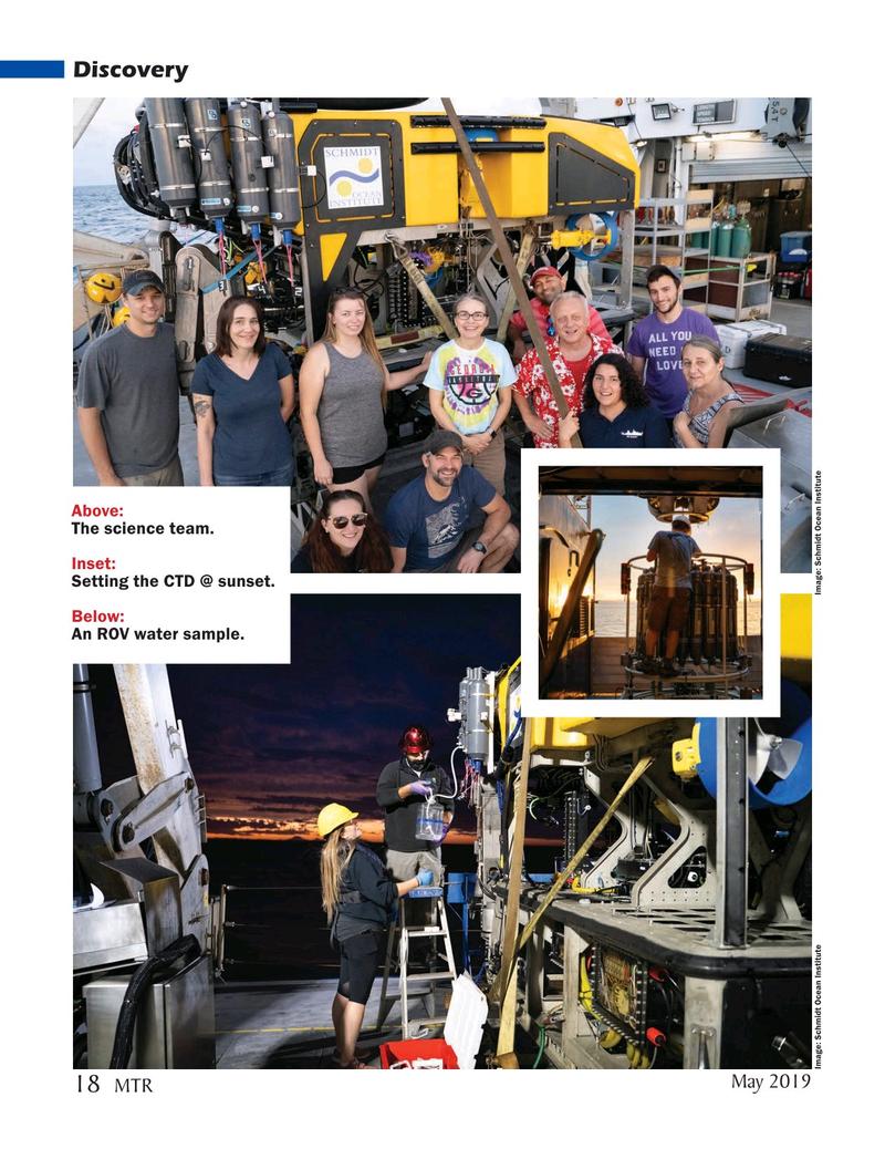 Marine Technology Magazine, page 18,  May 2019