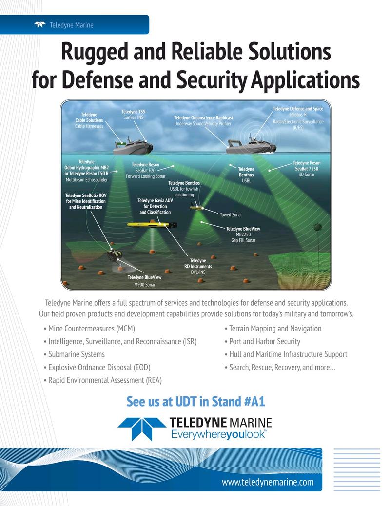 Marine Technology Magazine, page 1,  May 2019