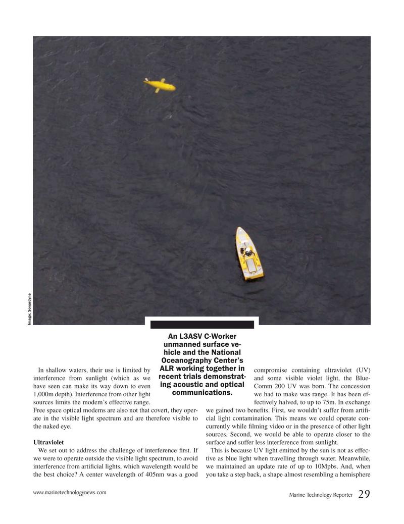 Marine Technology Magazine, page 29,  May 2019