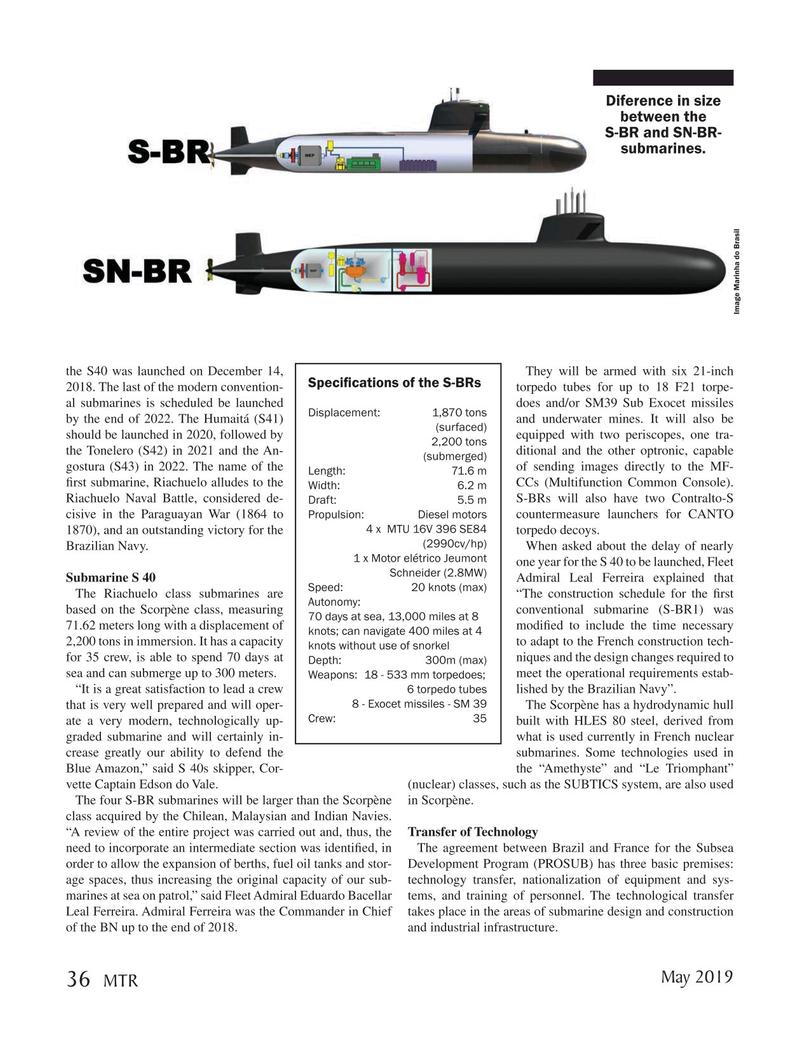 Marine Technology Magazine, page 36,  May 2019
