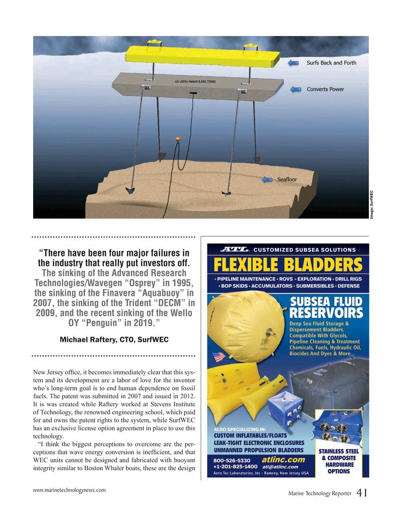 Marine Technology Magazine, page 41,  May 2019