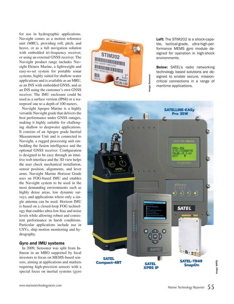 Marine Technology Magazine, page 55,  May 2019