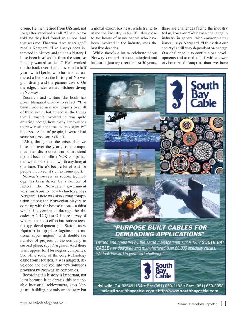 Marine Technology Magazine, page 11,  Jun 2019