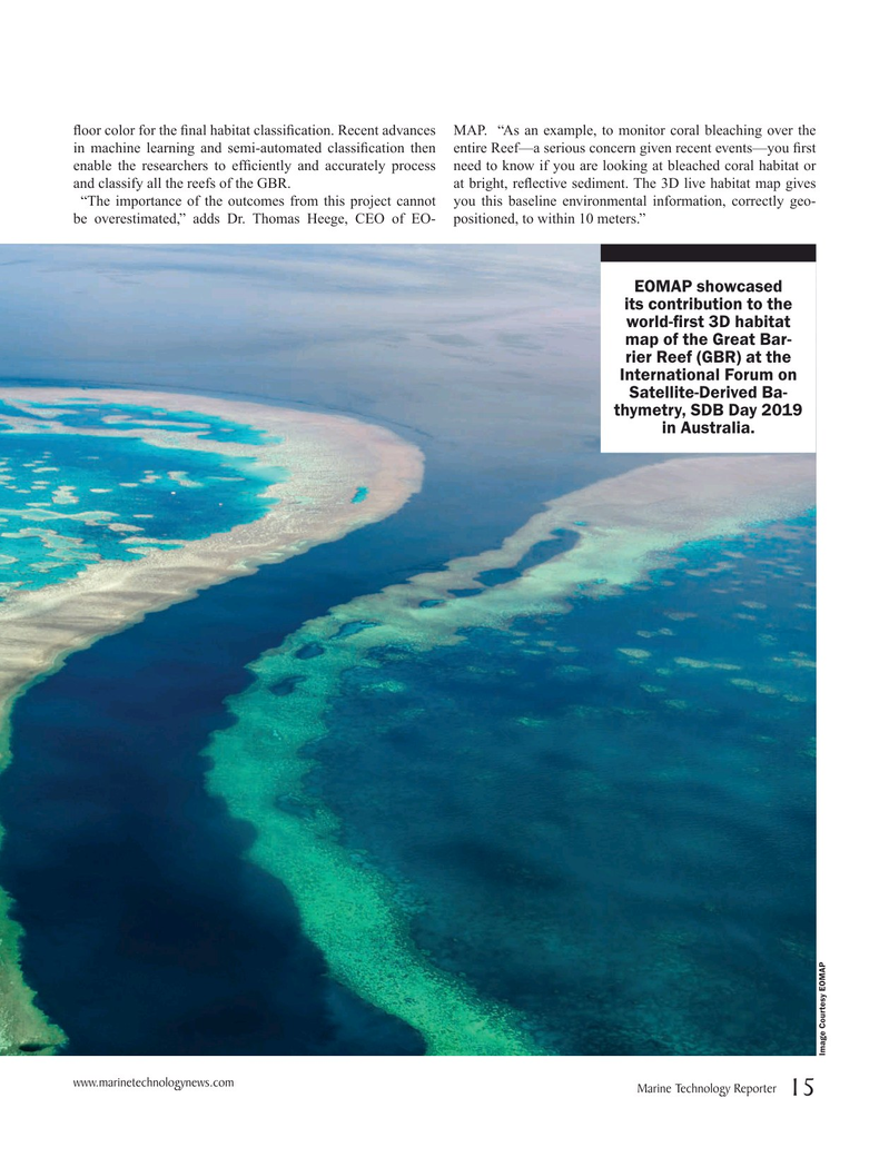 Marine Technology Magazine, page 15,  Jun 2019
