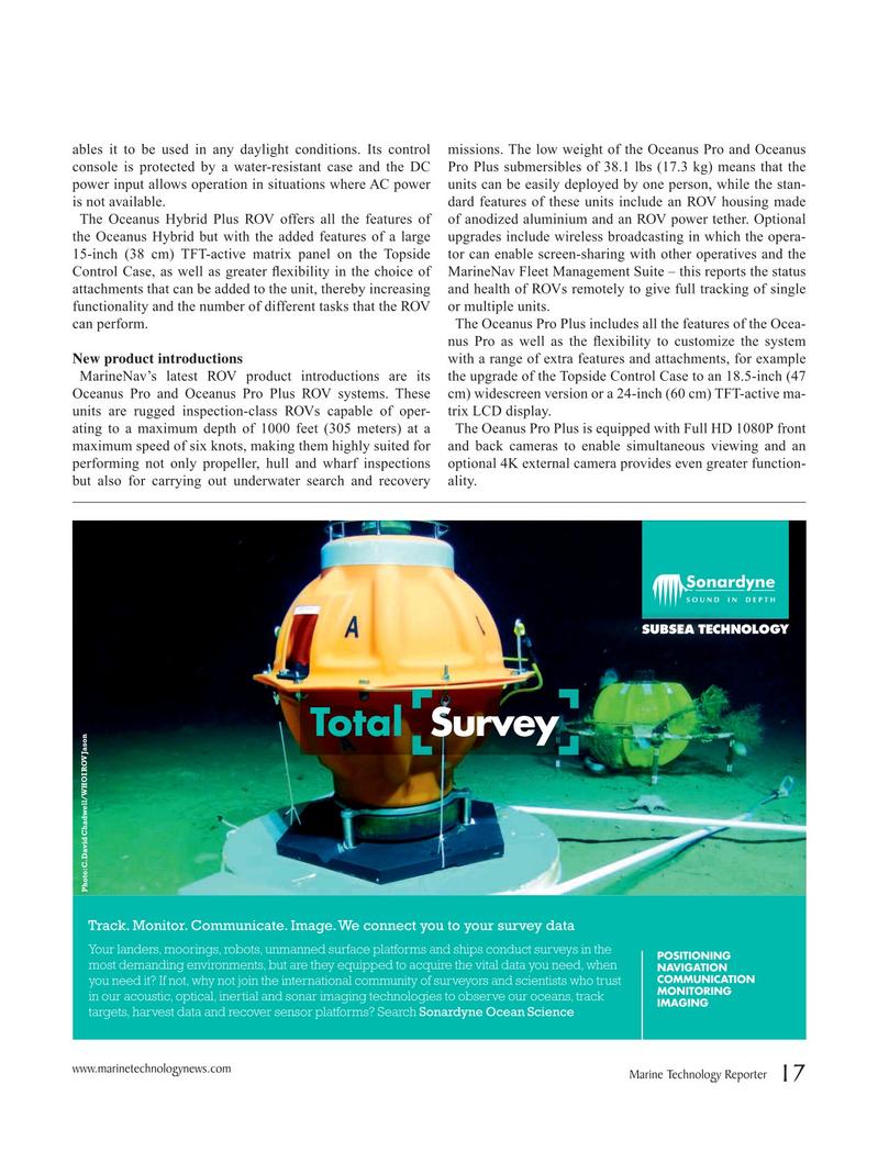 Marine Technology Magazine, page 17,  Jun 2019