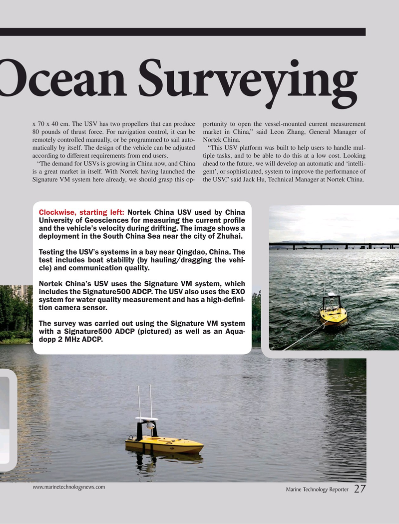 Marine Technology Magazine, page 27,  Jun 2019