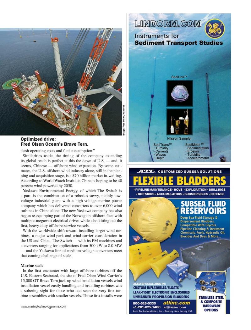 Marine Technology Magazine, page 41,  Jun 2019
