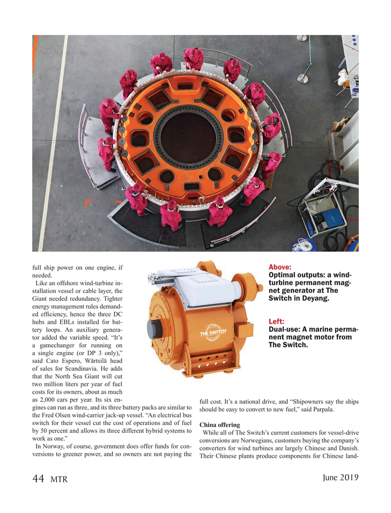 Marine Technology Magazine, page 44,  Jun 2019
