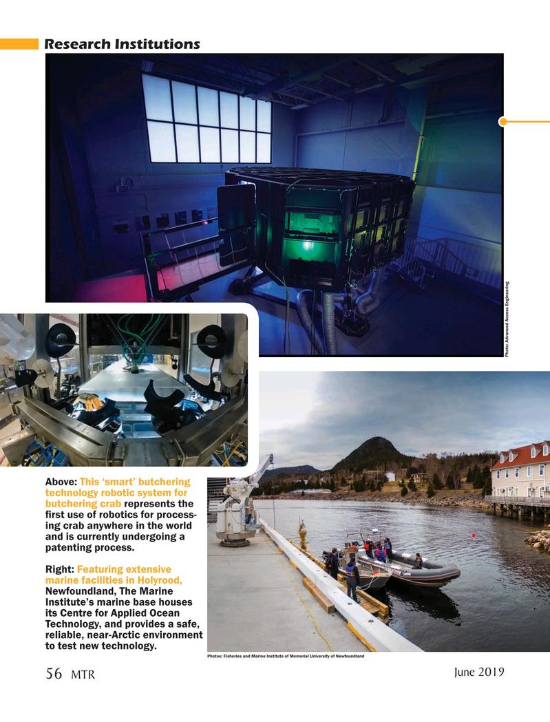 Marine Technology Magazine, page 56,  Jun 2019