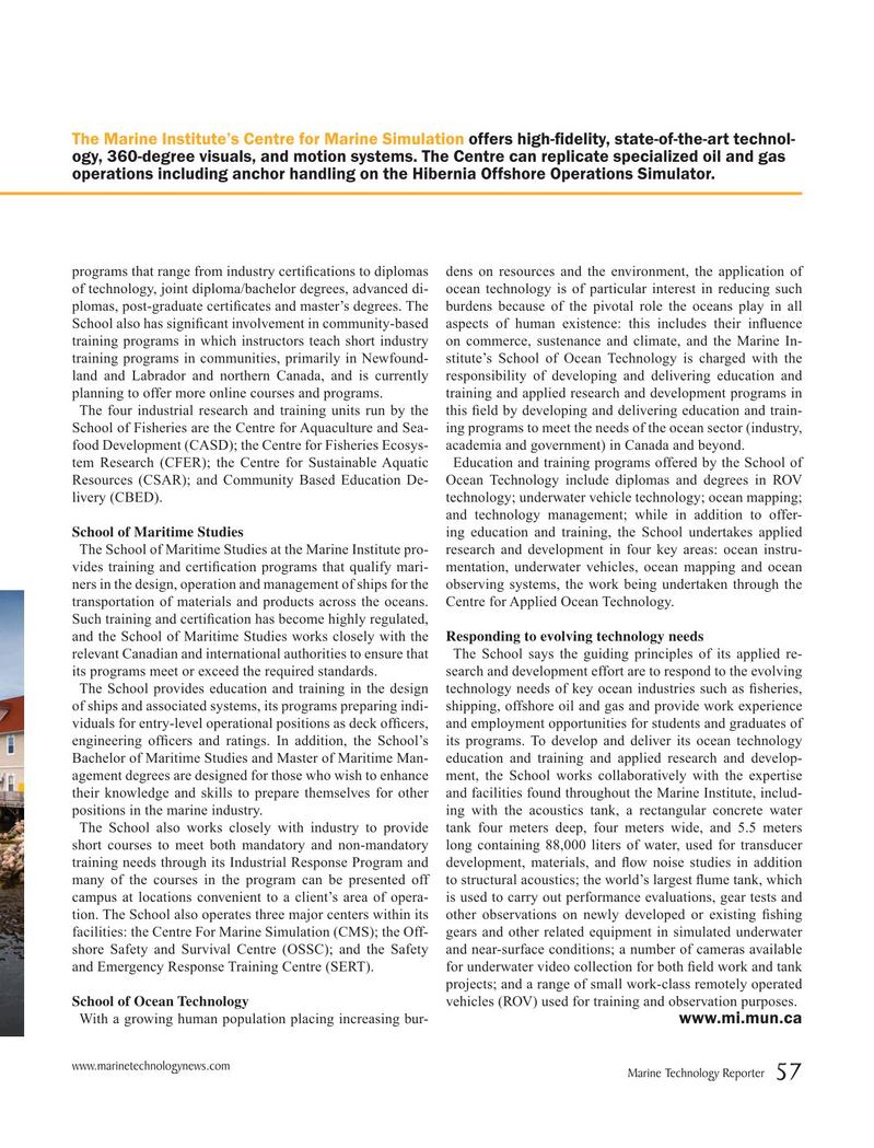 Marine Technology Magazine, page 57,  Jun 2019