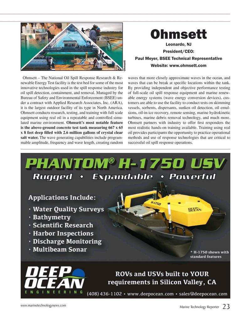 Marine Technology Magazine, page 23,  Jul 2019