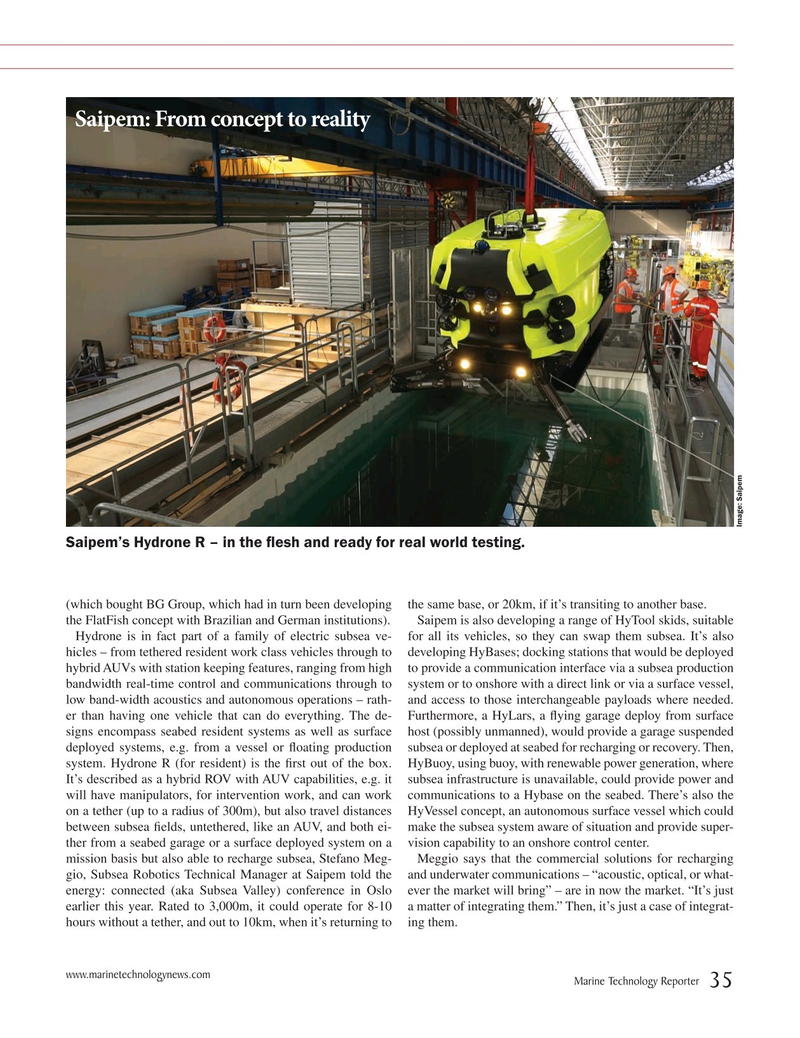 Marine Technology Magazine, page 35,  Jul 2019