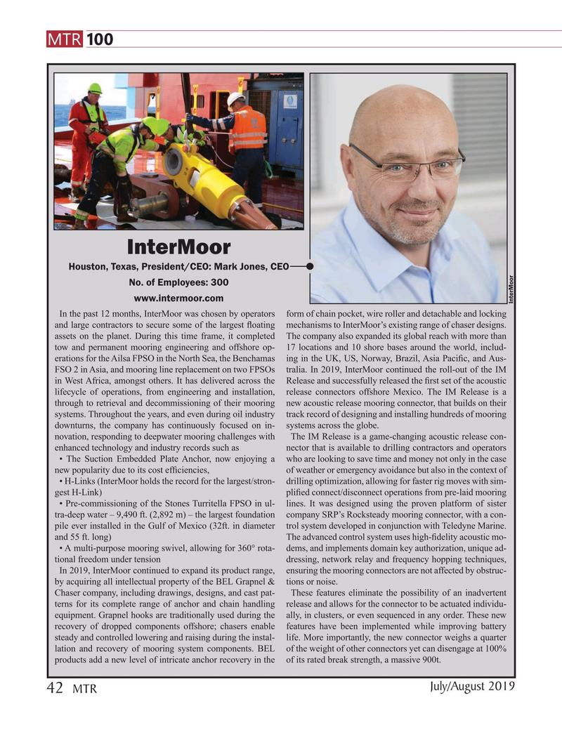 Marine Technology Magazine, page 42,  Jul 2019