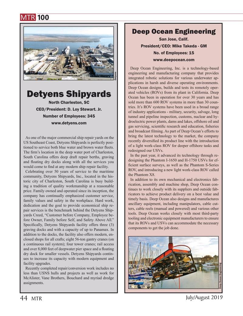 Marine Technology Magazine, page 44,  Jul 2019