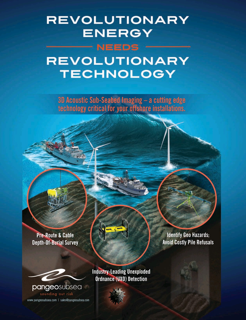 Marine Technology Magazine, page 4th Cover,  Jul 2019