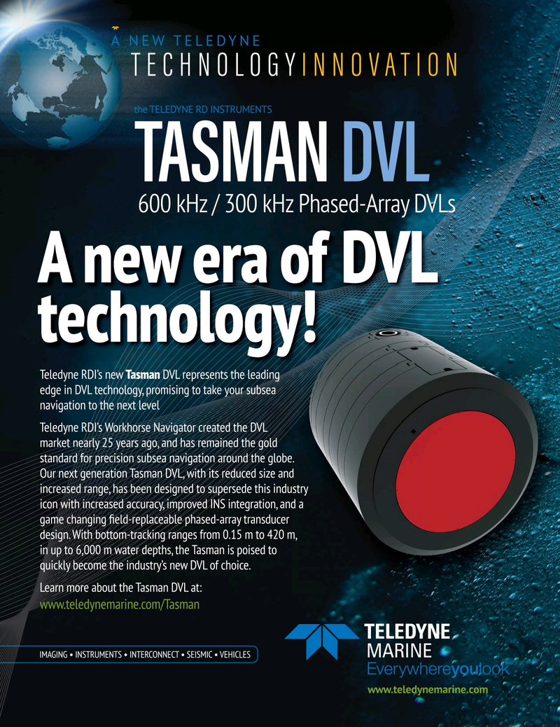 Marine Technology Magazine, page 13,  Sep 2019