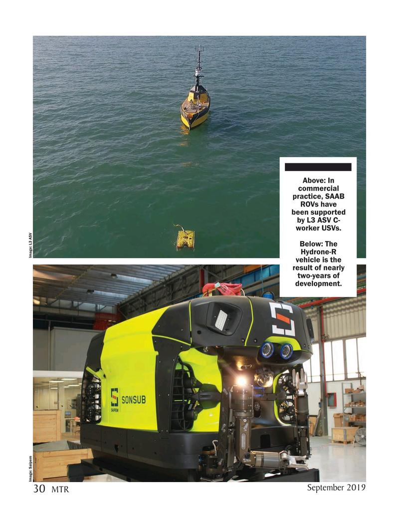Marine Technology Magazine, page 30,  Sep 2019