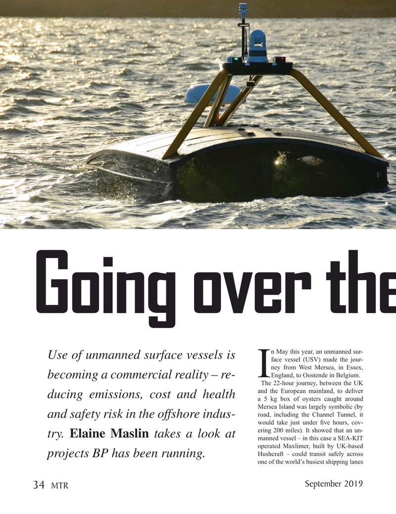Marine Technology Magazine, page 34,  Sep 2019
