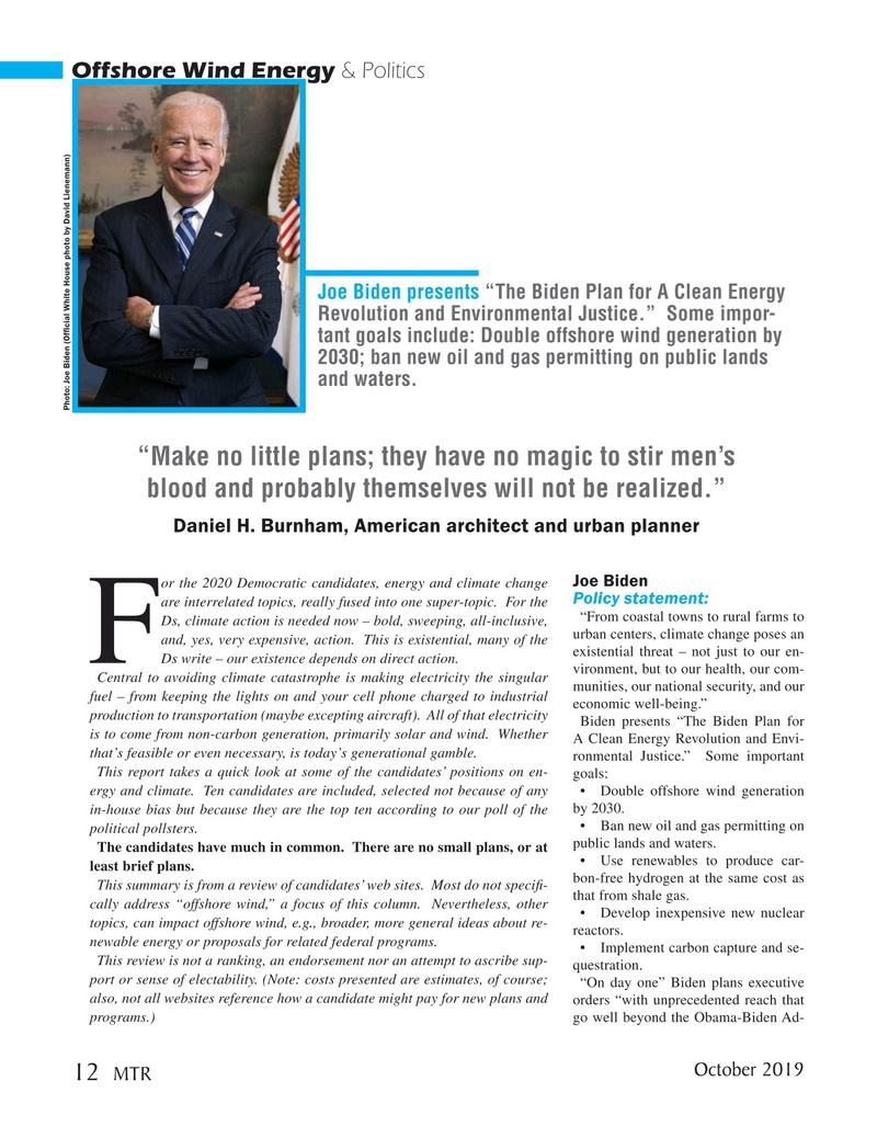 Marine Technology Magazine, page 12,  Oct 2019