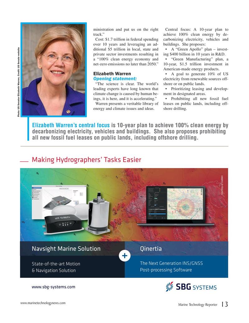 Marine Technology Magazine, page 13,  Oct 2019