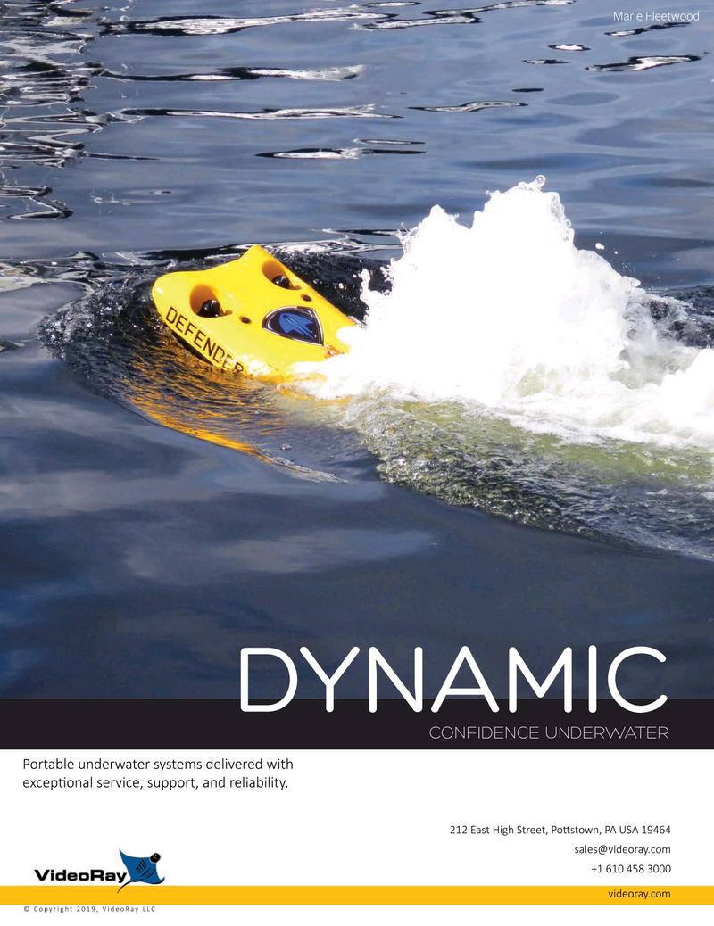 Marine Technology Magazine, page 2nd Cover,  Oct 2019