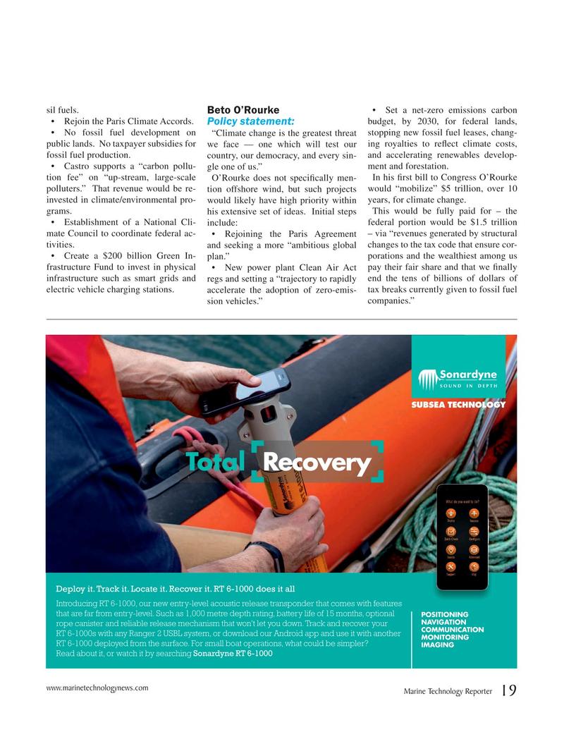Marine Technology Magazine, page 19,  Oct 2019