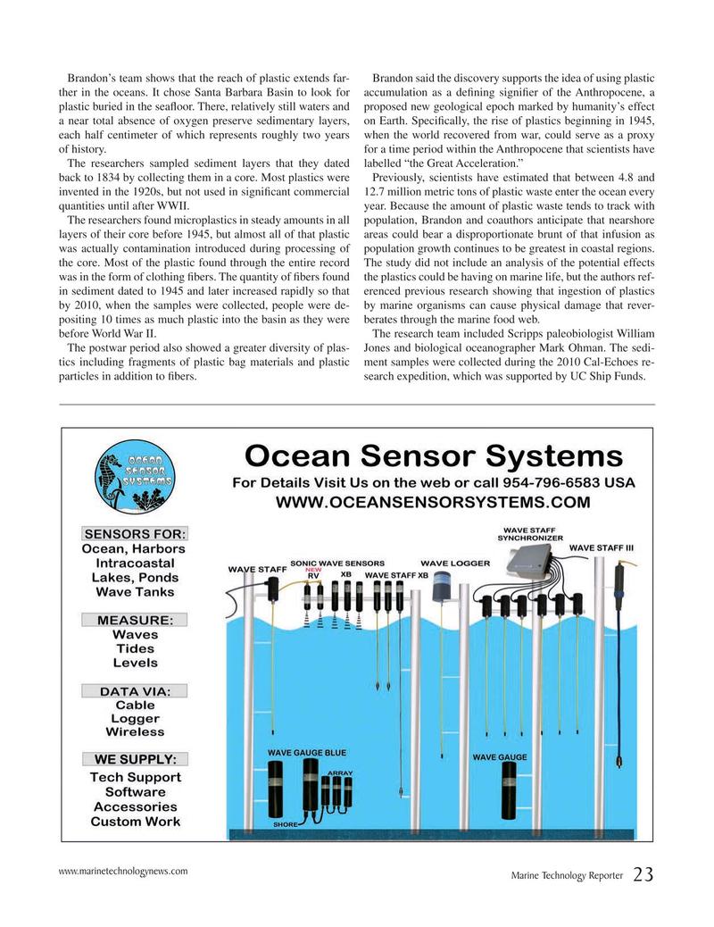 Marine Technology Magazine, page 23,  Oct 2019