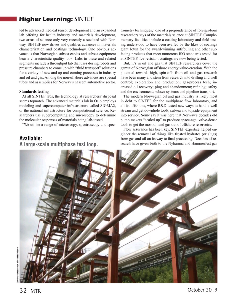 Marine Technology Magazine, page 32,  Oct 2019