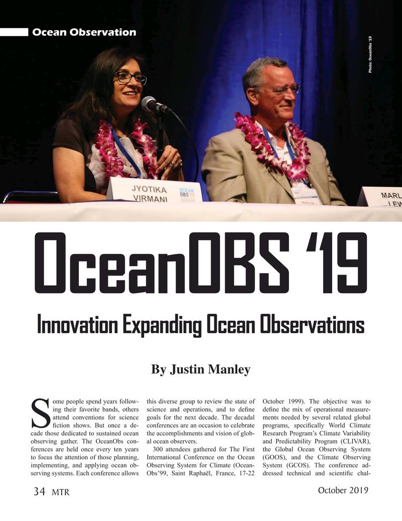 Marine Technology Magazine, page 34,  Oct 2019