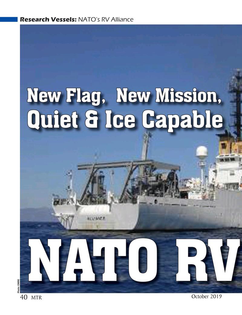 Marine Technology Magazine, page 40,  Oct 2019