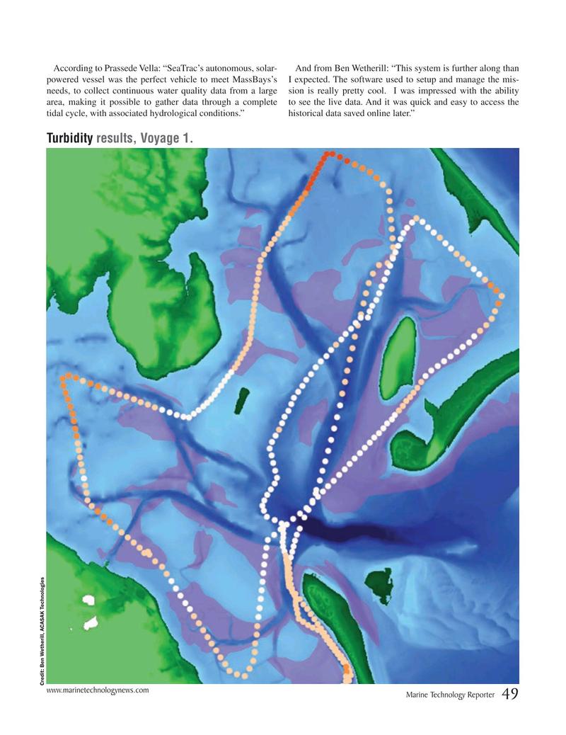 Marine Technology Magazine, page 49,  Oct 2019