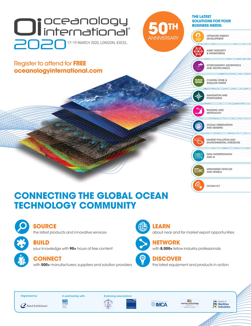 Marine Technology Magazine, page 55,  Oct 2019