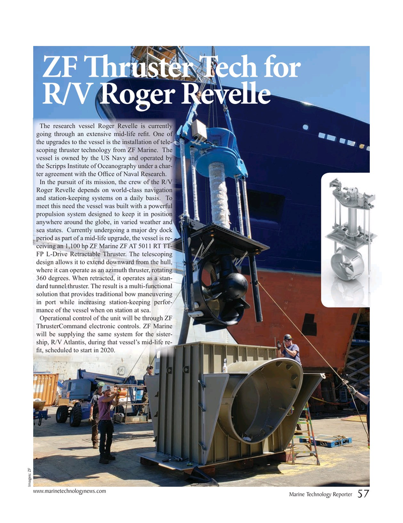 Marine Technology Magazine, page 57,  Oct 2019