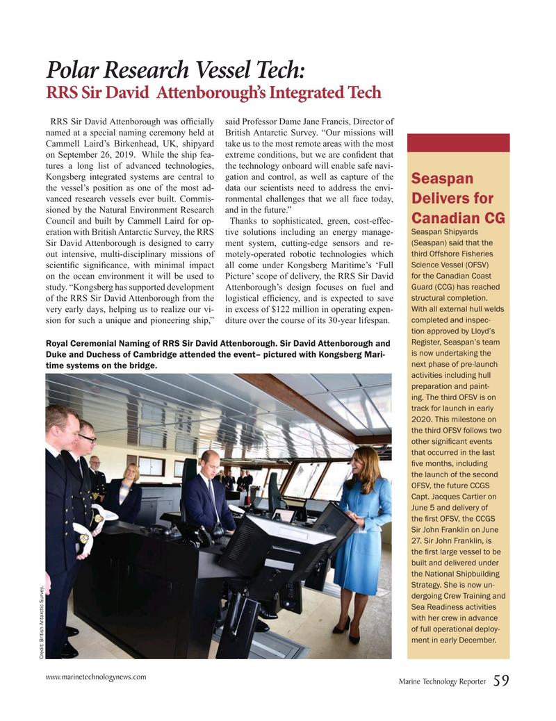 Marine Technology Magazine, page 59,  Oct 2019