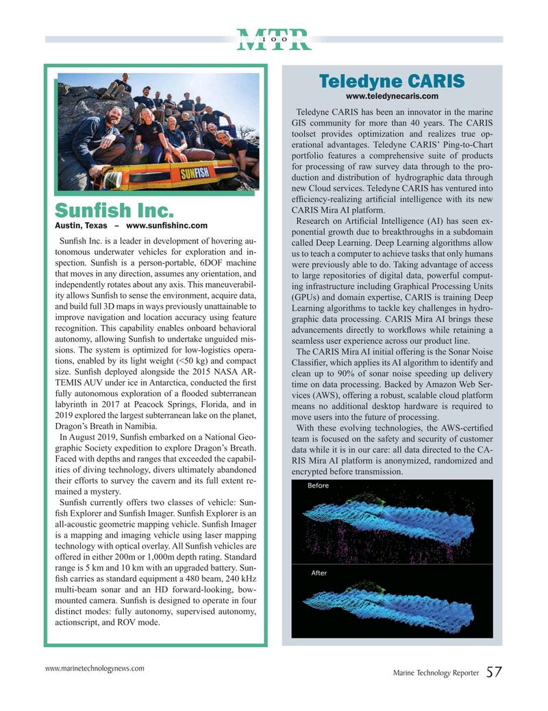 Marine Technology Magazine, page 57,  Jul 2020