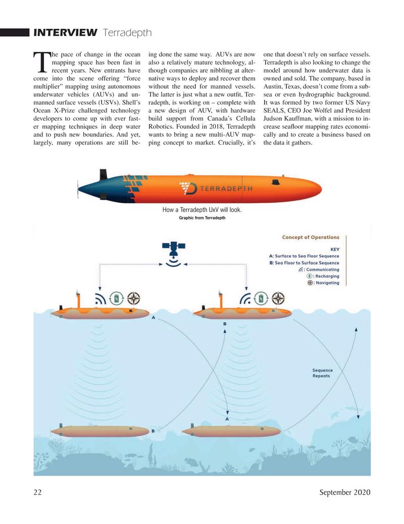 Marine Technology Magazine, page 22,  Sep 2020