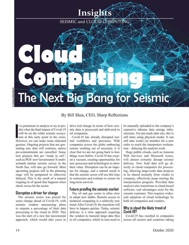 Marine Technology Magazine, page 14,  Oct 2020