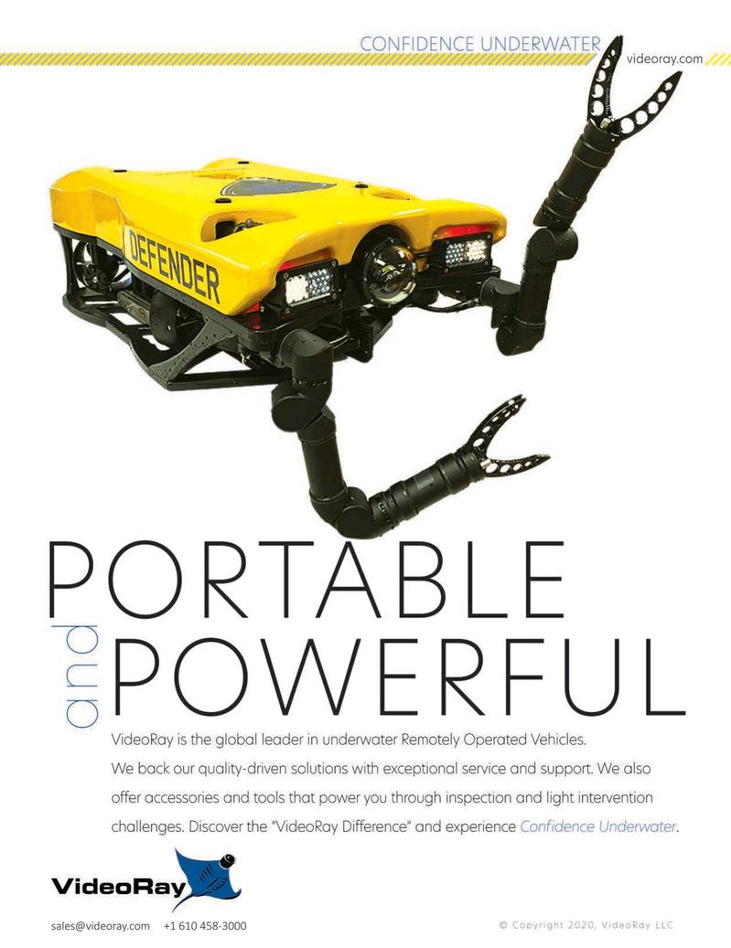Marine Technology Magazine, page 2nd Cover,  Oct 2020