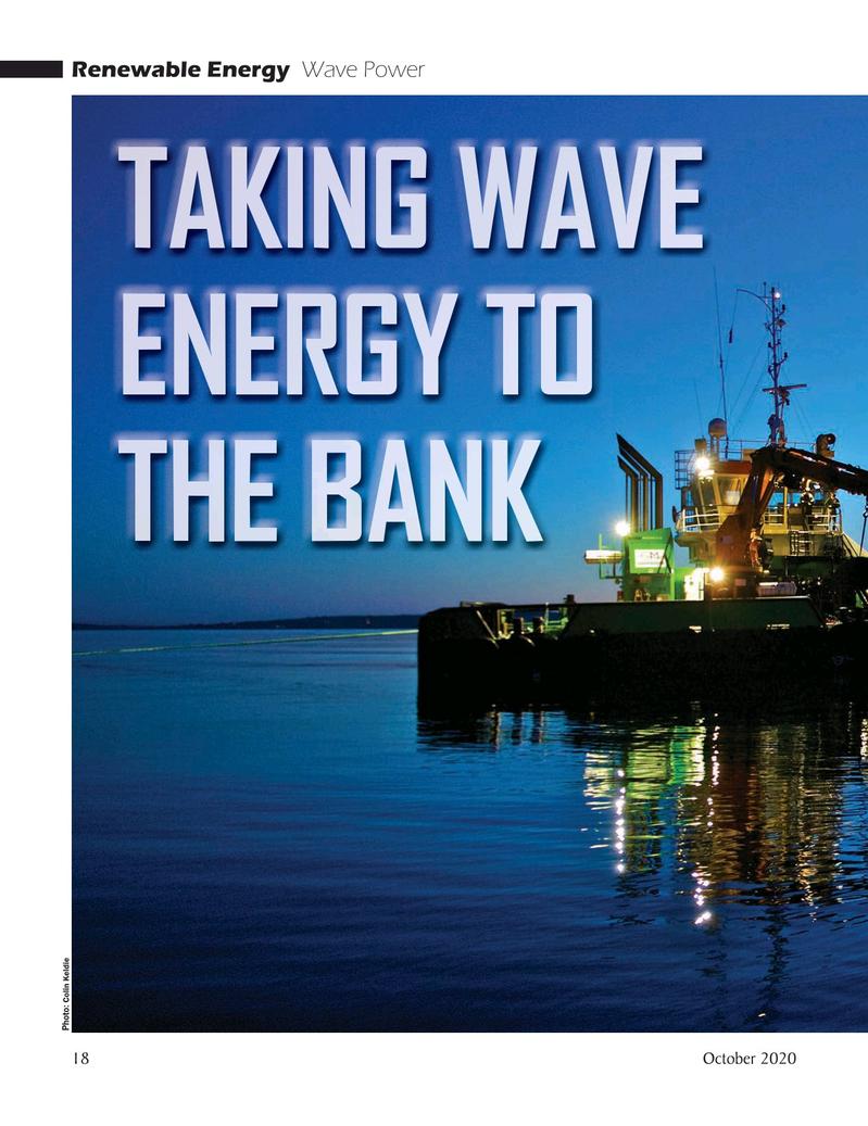 Marine Technology Magazine, page 18,  Oct 2020