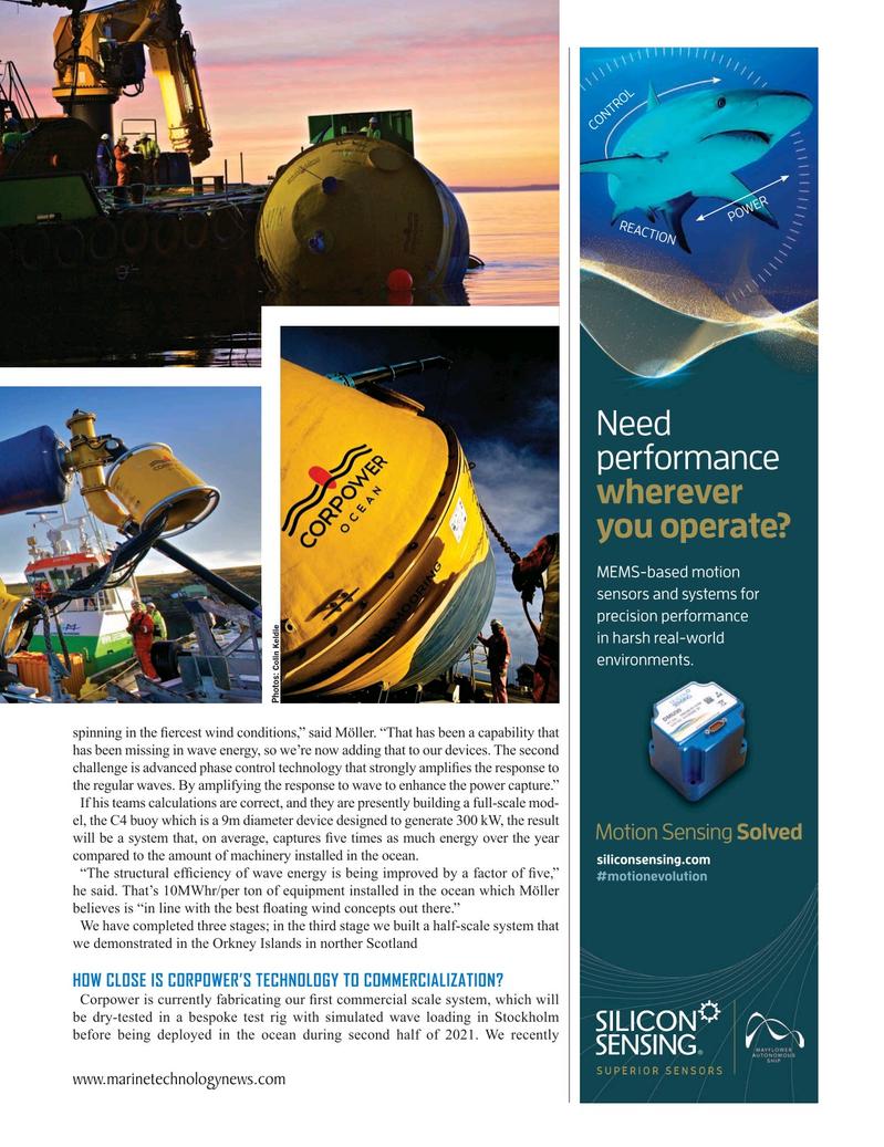 Marine Technology Magazine, page 21,  Oct 2020