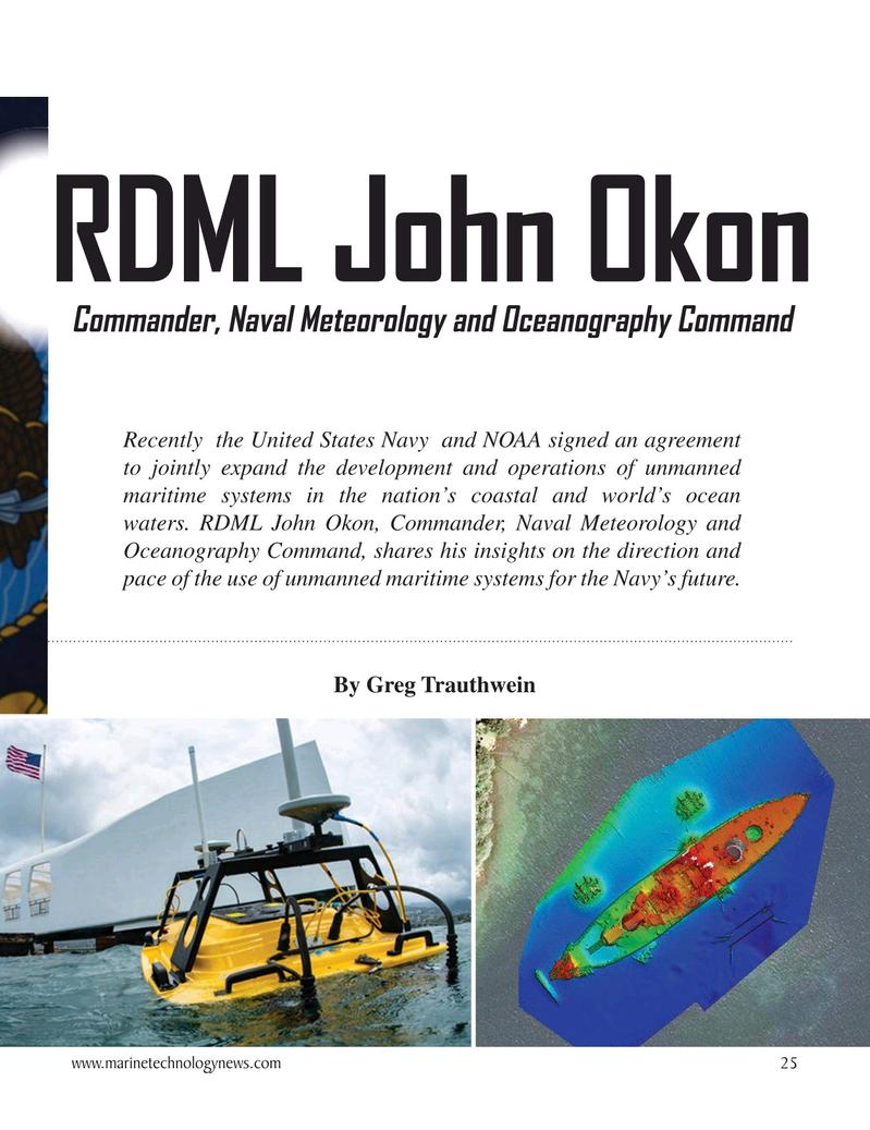 Marine Technology Magazine, page 25,  Oct 2020